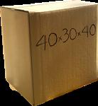 Χαρτόκουτο 40x30x40 cm