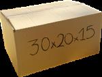 Χαρτόκουτο 30x20x15 cm κραφτ