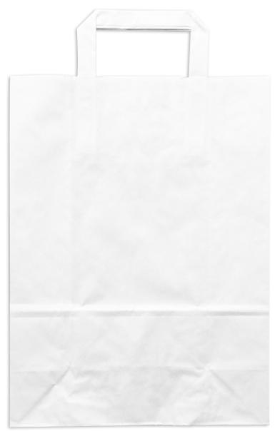 Tσάντες Χάρτινες Πλακέ Χεράκι Λευκές ΠΡΟΣΦΟΡΑ