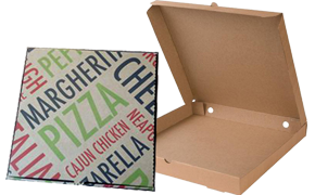 Kουτί PIZZA 100 Τεμάχια 30χ30χ4